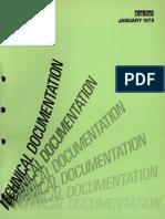 Technical Documentation Catalog (January 1979)