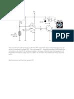 Automatic Fan Controller Circuit