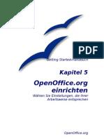 OpenOffice - Handbuch - Kapitel 5