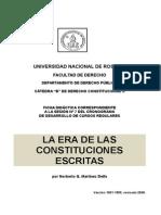La Era de Las Constituciones Escritas