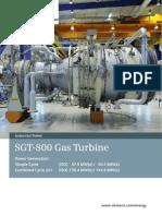 SGT-800 Gas Turbine En