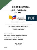 Plan de Contingencia - Etapa Invernal 2015.docx