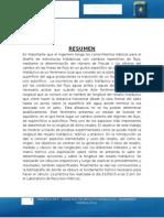 Informe - Longitud de Resalto Hidráulico