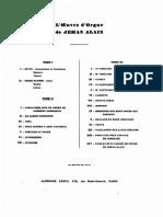 Alain, Jehan, The Organ Works of Jehan Alain, Tome 2