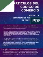Articulos Del Codigo de Comercio 899-902