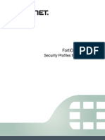FortiOS 5.0 - Security Profiles