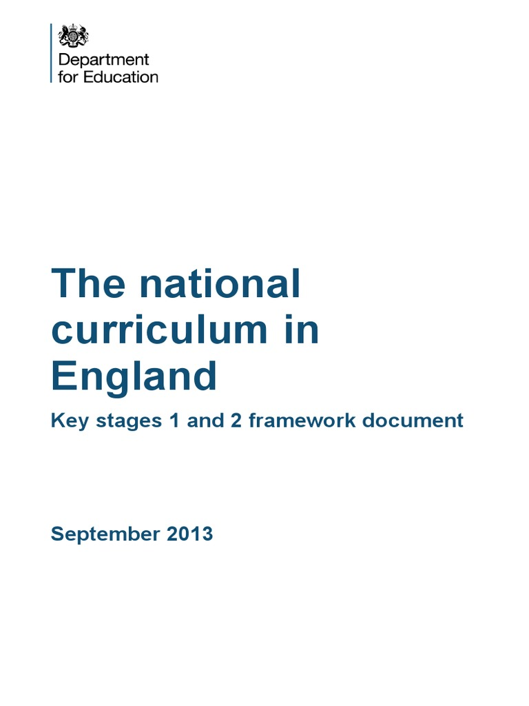 national curriculum Understand the basics of the national curriculum in england and the choices your child will face at gcse.