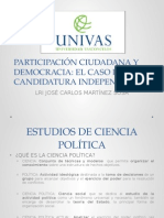 Participación Ciudadana y Democracia