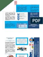 Ejemplo folleto empresa practica word