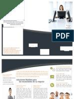 Ejemplo folleto empresa de practica word