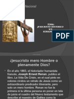 Noemi LienqueoJesucristo Historico vs Kerigma