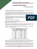 Consideraciones de Diseño Pav y Drenaje FINAL ABRIL 2013