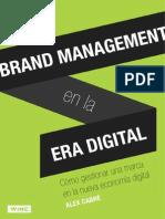 Brand Management en La Era Digital