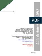 Listlistaa Autoridades Pará