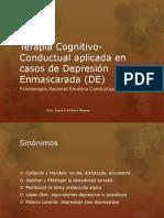 Terapia Cognitivo-Conductual Aplicada en Casos de Depresión Enmascarada