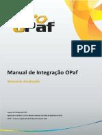 Manual de Integração Do Opaf Versão 4.1.0.0