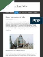 Shoes wholesale markets | Guangzhou Tour Guide