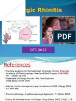 Allergic Rhinitis 2015