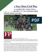 The U.N.'s Very Own Civil War