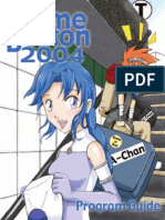 Anime Boston Program Guide 2004