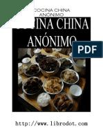 Cocina- Cocina China