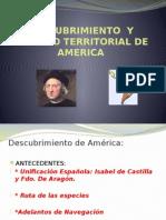 Descubrimiento y Reparto Territorial de America