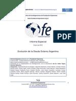 Evolucion de La Deuda Externa Argentina