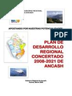 Plan de Desarrollo Regional Concertado Ancash 2008 2021