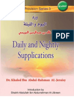 daily and nightly supplications