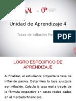 UNIDAD 4  - TASA DE INFLACION PASIVA.ppt