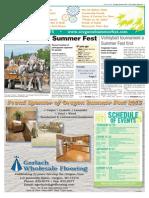 2015 Oregon Summer Fest