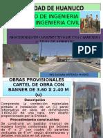 Procedimiento Constructivo de un carretera a nivel afirmado