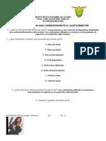 Examen de Tecnologia Correspondiente Al Quinto Bimestre