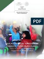 sexta preescolar 2014-2015