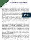 A Financeirização da Burocracia Sindical No Brasil