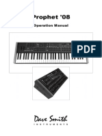 Prophet 08 Manual v1.3