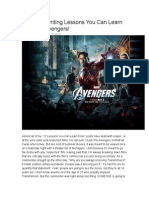 10 Screenwriting Lessons You Can Learn From the Avengers - SCRIPT SHADOW
