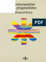Richard Rorty Consecuencias del pragmatismo 1996