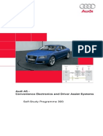 Ssp393 - Audi A5 - Convenience Electronics and Driver Assist Systems