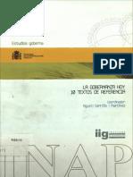 CERRILLO Ed La Gobernanza Hoy 10 Textos 2005