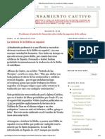 Todo Pensamiento Cautivo_ La historia de la Biblia en español