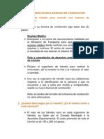 ABC de Las Licencias de Conduccion- 28-05-2013