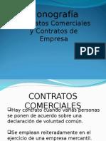 CONTRATOS COMERCIALES Y CONTRATOS DE EMPRESA.ppt