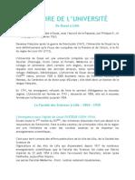 3306 Universit Lille1-Historique