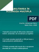 Reabilitarea in Sm - Prof Dr Mihancea Petru