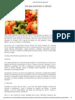 7 Alimentos Combater o Cancer