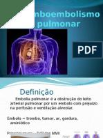 Tromboembolismo pulmonar 2015