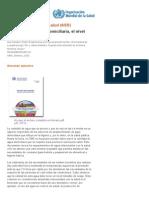 OMS _ La Cantidad de Agua Domiciliaria, El Nivel Del Servicio y La Salud