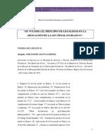 Principio Legalidad Ley en Blanco
