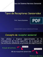 Receptores Sensoriales 2015 Cont 1
